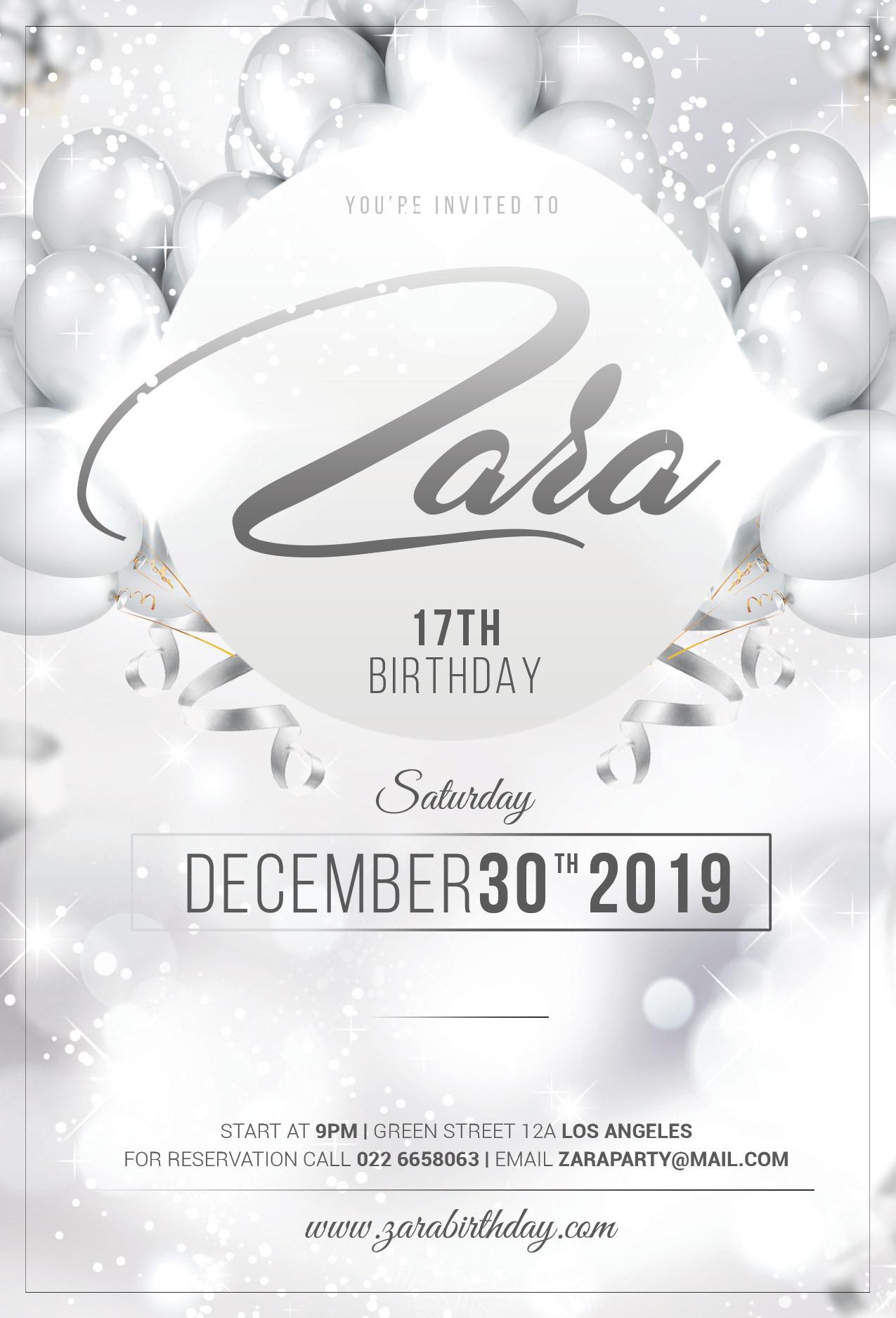 E Flyer & Invitations