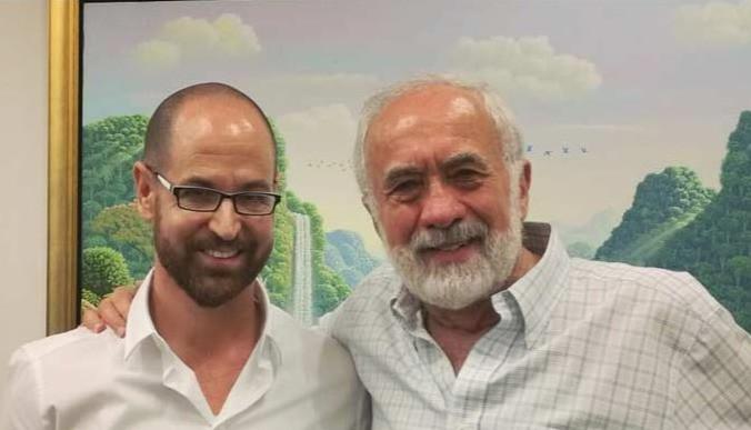 Past investor, and Mentor Benny Landa