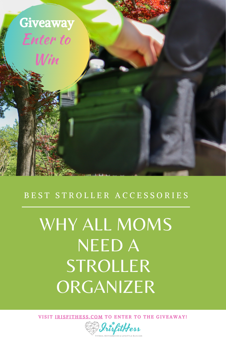 Why all moms need a stroller organizer