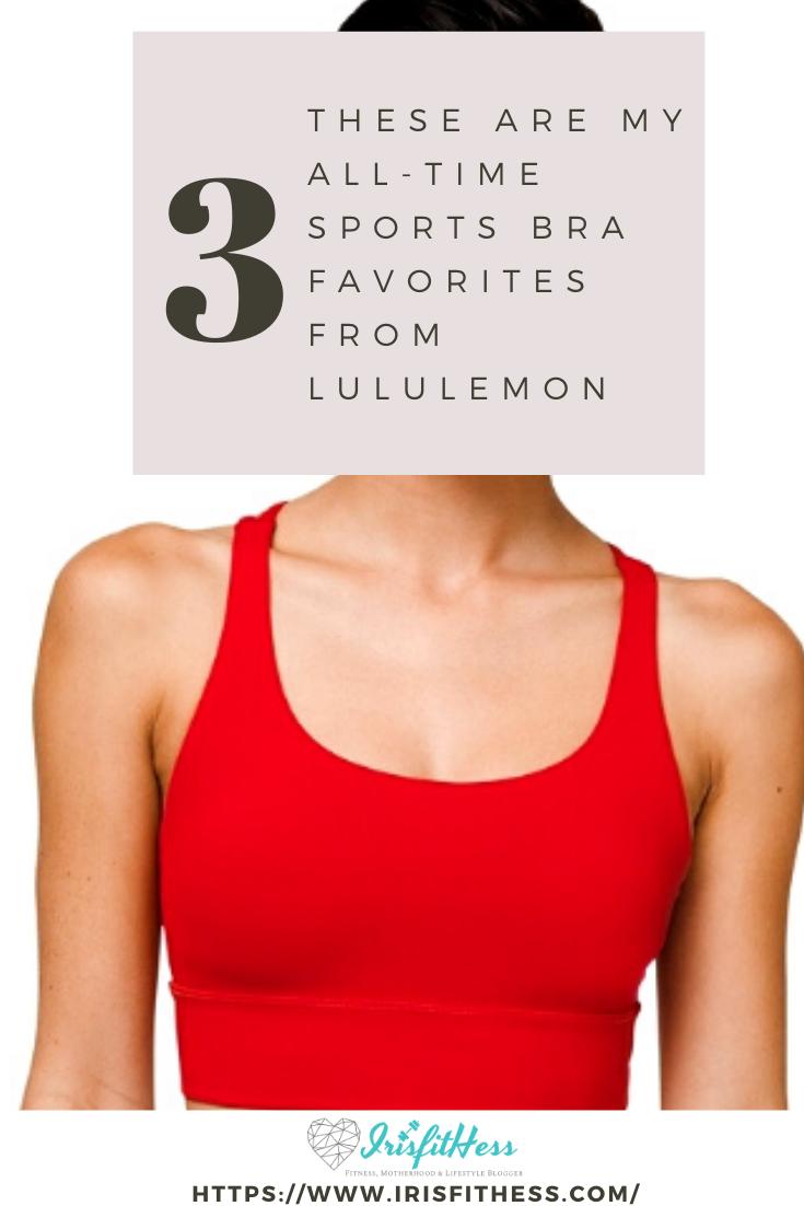 Best sports bras from lululemon
