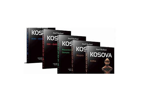 Kosova - Jusuf Buxhovi (vëllimet l, ll, lll, lV, V)