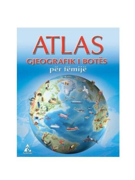 Atlas gjeografik i botës për fëmijë