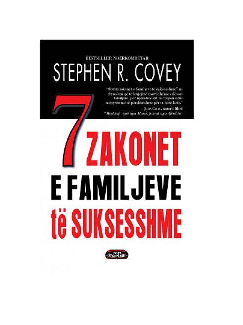 7 zakonet e familjeve të suksesshme - Stephen R. Covey