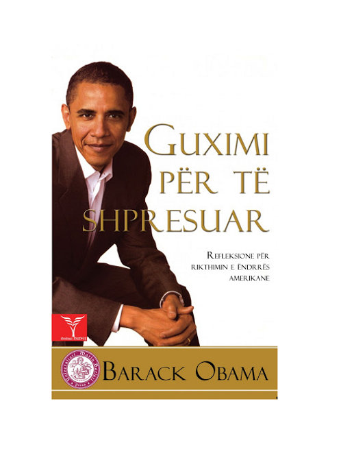 Guximi për të shpresuar -Barack Obama