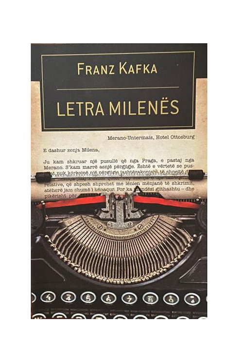 Letra Milenës - Franz Kafka