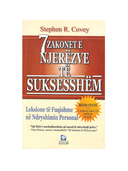 7 zakonet e njerezve te suksesshem - Stephen R. Covery