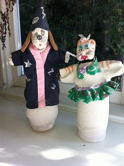 Soft Sculpture Puppets/Karen Westheimer/Graphic Artist