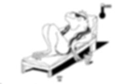 chaise lounge iguana-Karen Westheimer