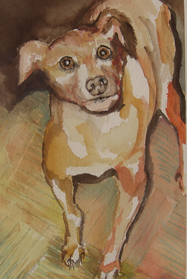Watercolor/Dog Portraits/Karen Westheimer/Graphic Artist