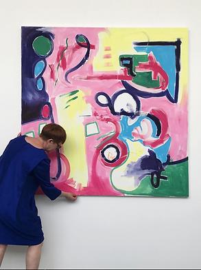 Alison Mcbride Scottish Artist - Art - Exhibitions - Gallery - Painting - Glasgow - UK - Scotland