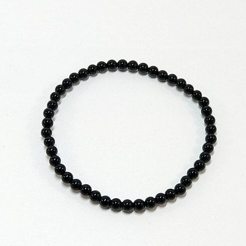 Black Onyx 4mm Bracelet