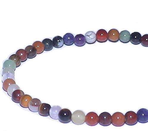 Mixed Stone 4mm Bracelet