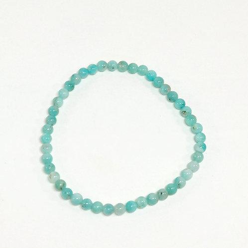 Amazonite 4mm Bracelet