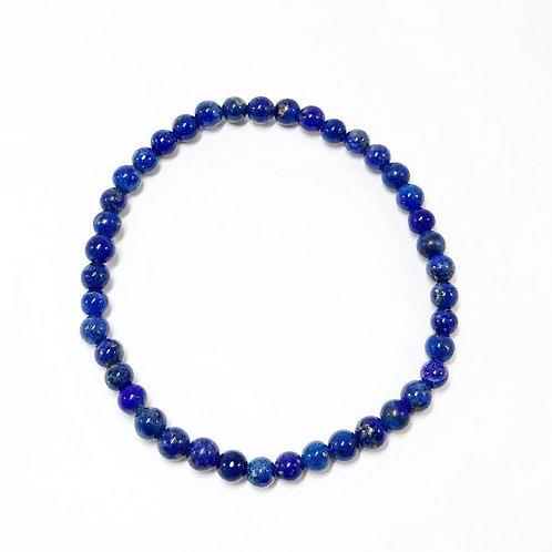 Lapis 4mm Bracelet