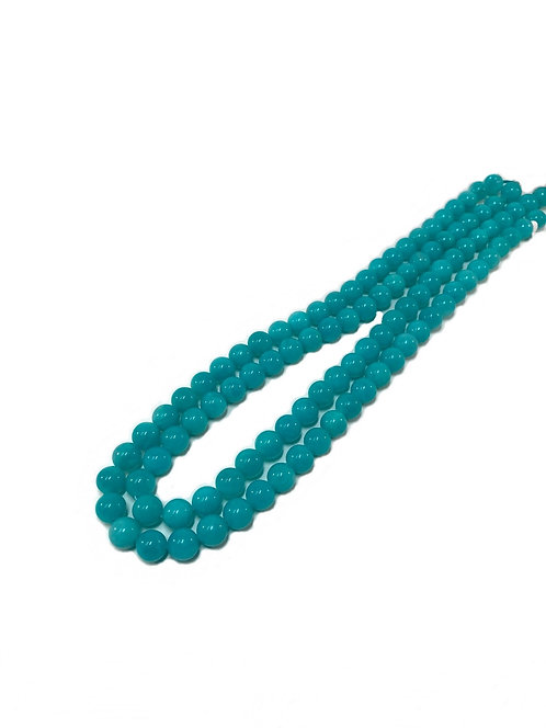 Amazonite 8mm Round Beads Top