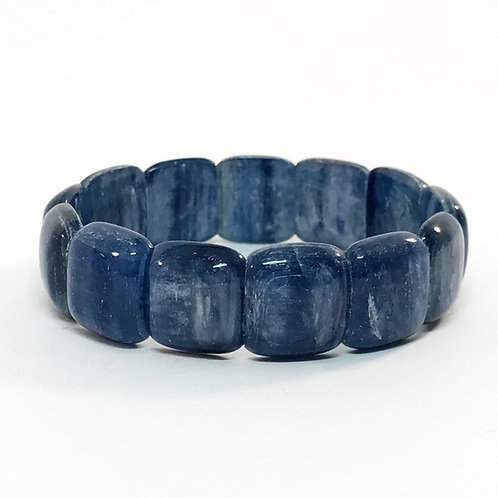 Kyanite Square Cab. Bracelet