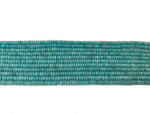 Amazonite 6mm Roundel Beads A+