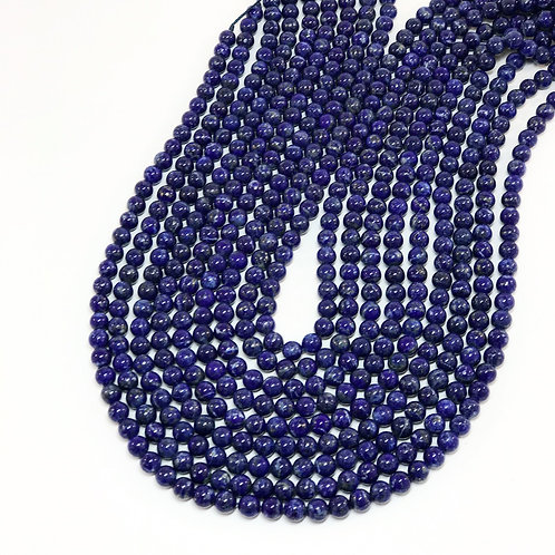 Lapis 6mm Round Beads A+