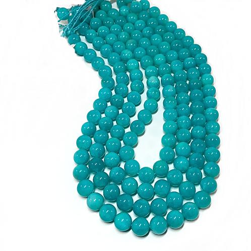 Amazonite 10mm Round Beads 3A