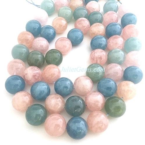 Beryl Round Beads 20mm 2A+