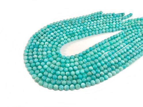 Amazonite 6mm Round Beads A+