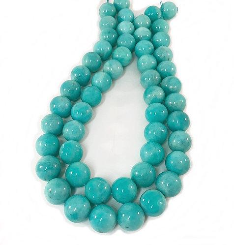 Amazonite 16mm Round Beads A+