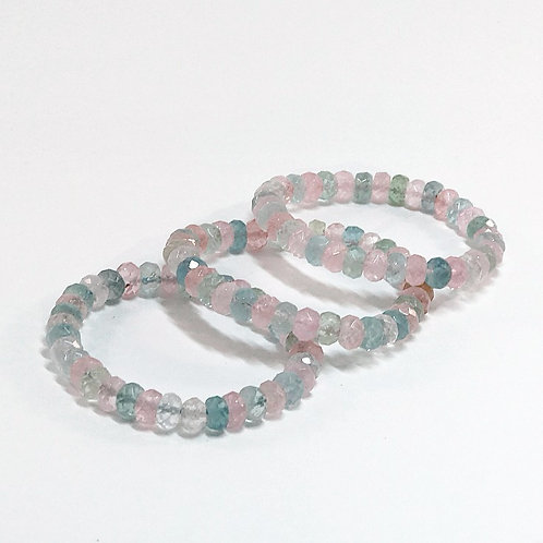 Beryl Faceted Bracelet 3A