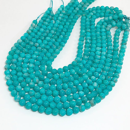 Amazonite 8mm Round Beads A+