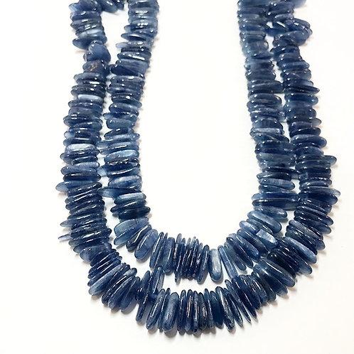 Kyanite Chips ( side drilled) 3A