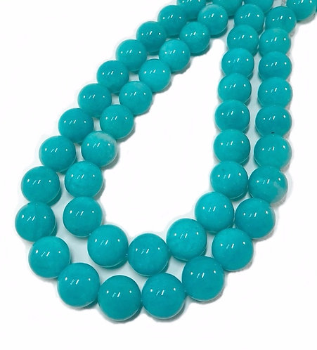 Amazonite 14mm Round Top