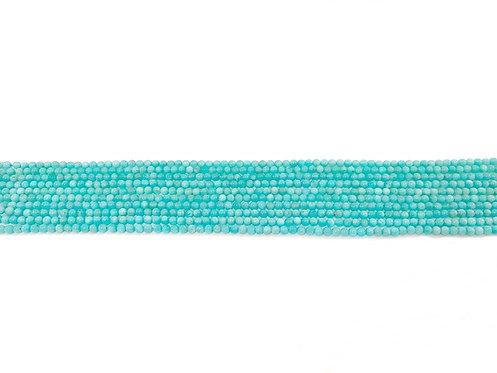 Amazonite 4mm Round Beads A+