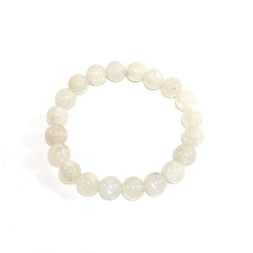 Moon Stone 10mm Bracelet