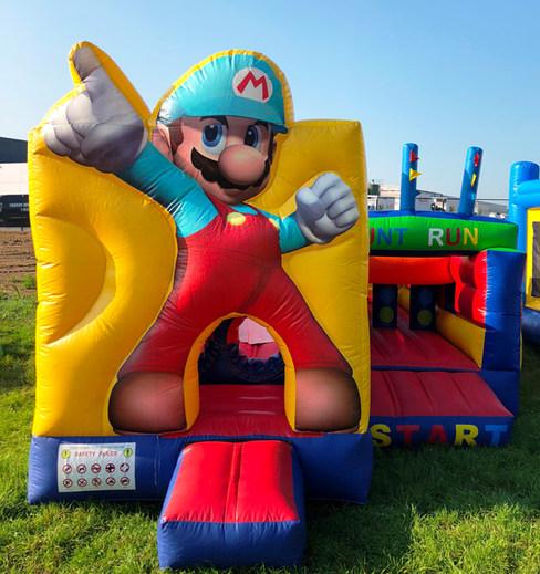 Mario springkasteel