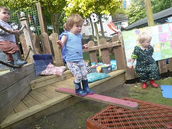 balancing at abacus nursery ilkley