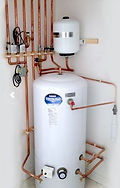 unvented cylinder and pipework
