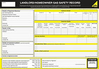 gas safety certificate gas safe
