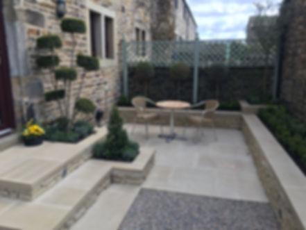 patio ilkley landscape gardener T Bye