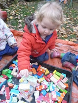 outdoor activites at abacus pre school nursery ilkley