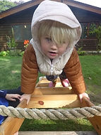 outdoor activities at abacus nursery ilkley