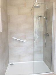 wet room design installation