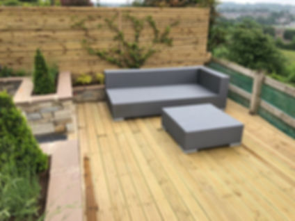 Landscape Decking Design Ilkley