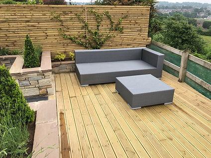 Landscape Decking Design Ilkley