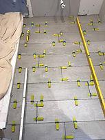underfloor heating installation 5
