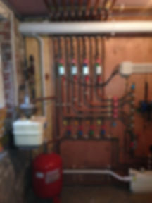 central heating pipework ilkley