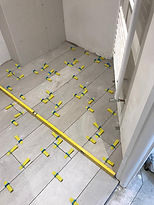 underfloor heating installation 6