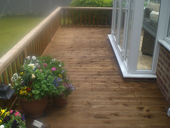 timber decking ilkley