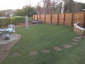 landscaping turfed areas ilkley
