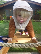 child at abacus nursery ilkley