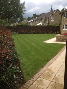 laying turf landscapes ilkley