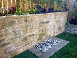 garden featuree landscape design Ilkley